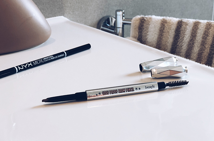 Benefit Goof Proof Brow Pencil vs. NYX Micro Brow Pencil